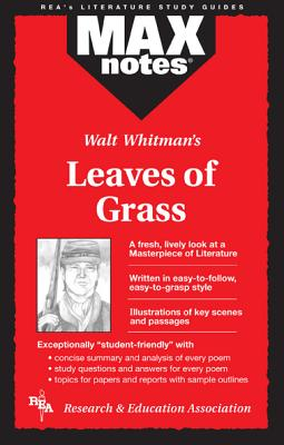 Leaves of Grass (Maxnotes Literature Guides) By Berg, Christine/ Kelly, Kevin